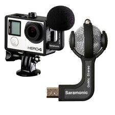 Saramonic GoMic Mini Stereo Ball Microphone Mic for Gopro Hero Action Camera
