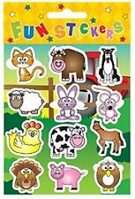 24 Sheets of 12 FARM STICKERS