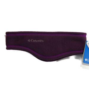 Columbia Unisex Fast Trek Headring Size L XL Purple Ear Warmers Headband NEW