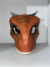 Jurassic World Velociraptor Tiger Legacy Dinosaur Dino Rivals Halloween Mask