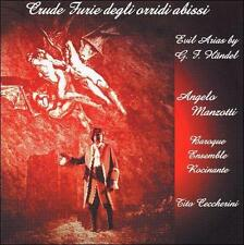 "CRUDE FURIE DEGLI ORRIDI ABISSI: EVIL ARIAS BY G.F. H""NDEL [INCLUDES CD-ROM] NEW"