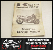 Factory Service Repair Manual Kawasaki Ninja ZX7 1989 OEM