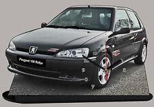 AUTO PEUGEOT 106 RALLY -01, AUTO IN OROLOGIO MINIATURA