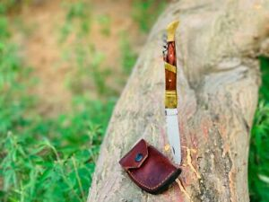 Custom Handmade Carbon Steel Folding Pocket Knife