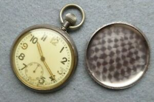 Military pocket watch for repairs, 15 jls, 3 adjustments, GSTP 160250, B stamp.