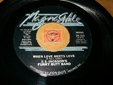 J.J. JACKSON'S FUNKY BUTT BAND - WHEN LOVE MEETS LOVE - LET / LISTEN - SOUL FUNK