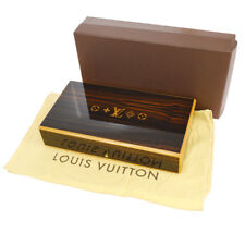Auth LOUIS VUITTON Coffrets De Voyage Mahogany Cigar Case Humidor Box V20111