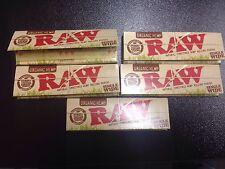 Raw Organic Hemp 5packs