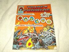 Transformers Comic Issue 154 February 1988