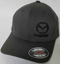 MAZDA FLEXFIT Baseball Hat Cap Flexfit Style 6277 CX-3 / MX-5 Miata / Mazda 3
