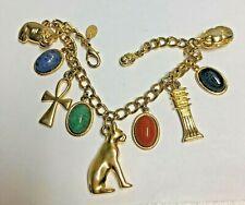 KJL Kenneth J Lane SCARAB Charm Bracelet