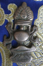 Antique Very Old Tibetan Sky Bronze Bhumba Thogchags, Nepal