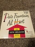 "Vintage PETE FOUNTAIN AND AL HIRT ""THE NEW ORLEANS SCENE"" LP"
