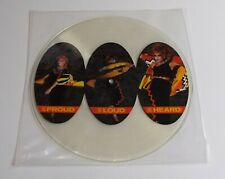 "Toyah Be Proud Be Loud Be Heard 12"" Single Picture Disc A1 B1 Pressing - EX"