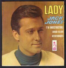 JACK JONES 45T EP KAPP KEV. 13034 Lady / I'm indestructible / NEUF / MINT