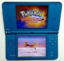 Nintendo DSi XL Midnight Blue Handheld System [Firmware Version 1.4.3E]