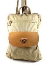 Maison Mollerus Beige Nylon Backpack Women S Handbag