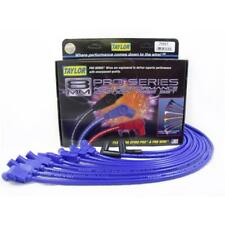 Taylor Spark Plug Wire Set 74657; Spiro Pro 8mm Blue 135° HEI (Male) for Ford V8
