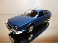 POLISTIL S38 CITROEN CX 2200 - BLUE METALLIC 1:25 - VERY GOOD CONDITION