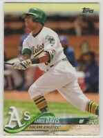 2018 Topps Oakland Athletics Complete Team Set Series 1, 2, and Update 32 cards