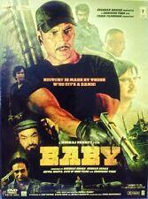 Baby DVD - 2015 Hindi Movie 2-Disc Special Edition ALL/0 Subtitles, Akshay Kumar