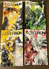 OVERRUN 1-4 JETPACK COMICS EXCLUSIVE SET Andi Ewington Pual Green Treemondo