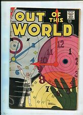 CHARLTON OUT OF THIS WORLD #9 (4.0) RARE SCI FI