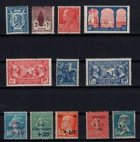 CZ145380/ FRANCE – YEARS 1924 - 1930 MINT MNH / MH SEMI MODERN LOT