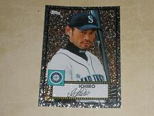 2011 Topps 52 Black Diamond Wrapper Redemption 8 Ichiro