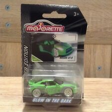 Majorette Nissan GT-R Series4 Limited Edition car Diecast Green Glow in the dark