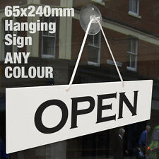 Abierto y cerrado 3MM Colgante Signo rígido, puerta de ventana tienda-Cualquier Color