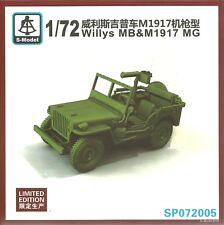 S-model 1/72 Willys Jeep & M1917 mg (Ltd Edition Kit)