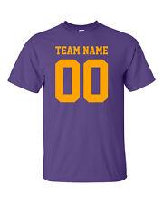 The Basic Team Jersey ** Cotton Tee ** Football ** Baseball ** Soccer ** XS - 5X