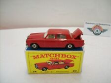 Matchbox 1-75, Nr.24, Rolls Royce Silver Shadow, 1965, red, (Made in England)