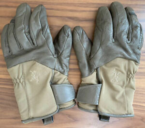 Arc'teryx Leaf Gloves Size Large Rare Gore-Tex Green OD Cold Weather