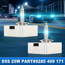 2x OEM 2016-2018 GMC Sierra 1500 2500 3500 D5S 25W Xenon Bulb HID Headlight