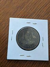 1913 Australia Florin coin Silver KM 27