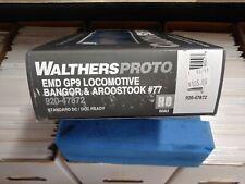 Walthers Proto Ho EMD GP9 Bangor & Aroostook #77 Locomotive
