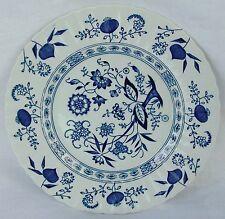 "Meakin J & G Blue Nordic Classic White Dessert/Pie Plate 7""  Mint"