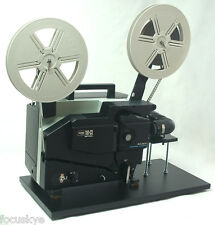ELMO 16mm Movie Projector Unit Telecine Video Transfer Built-In  PAL-HD Camera