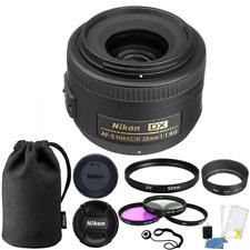 Nikon AF-S DX NIKKOR 35mm f/1.8G Lens + 52mm Accessories