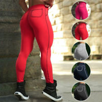 EG_ Fashion Sexy Sports Trousers Gym Fitness Yoga Slim Cotton Leggings Pants Con