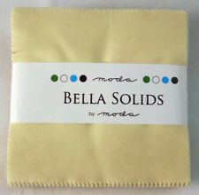 Moda Fabrics Charm Pack - Bella Solids Natural 9900pp 12