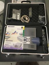 Sharp XG-NV6XU LCD Digital Projector w/ Ceiling Mount Case Remote Accessories