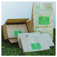 General Paper Lawn & Leaf Bag 50lb Kraft Wet-Strength 16 x 12 x 35 50 bags
