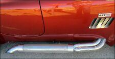 Sidepipe Heat Shields Shelby Cobra 427 Replica Kit Car Side Pipes Chrome Ceramic