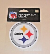 NFL PITTSBURGH STEELERS 4 X 4 DIE-CUT DECAL OFFICIALLY LICENSED PRODUCT