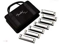 FENDER Blues Deluxe 7 pack with case Set di 7 armoniche con tonalità diverse