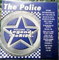 LEGENDS KARAOKE CDG THE POLICE CLASSIC ROCK OLDIES #24 15 SONGS CD+G