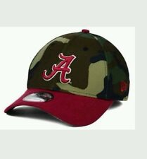 ALABAMA CRIMSON TIDE NEW ERA 39Thirty 3930 Woodland Camo Tactical Hat Cap